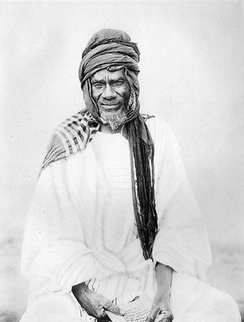Samori Touré, founder and leader of the Wassoulou Empire which resisted French rule in West Africa