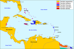 The Antilles in 1790.
