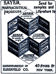 Advertisement for Bayer Heroin