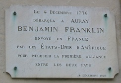 Benjamin Franklin plaque Auray.jpg