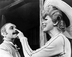 David Burns and Carol Channing in the original Broadway cast, 1964