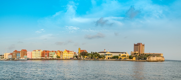 Willemstad in the late afternoon.