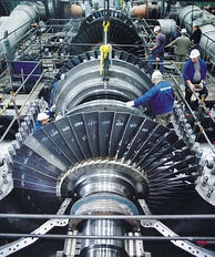 Design of a turbine requires collaboration of engineers from many fields, as the system involves mechanical, electro-magnetic and chemical processes. The blades, rotor and stator as well as the steam cycle all need to be carefully designed and optimized.