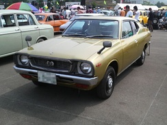 A Japanese-market Cherry F-II Coupé 1200