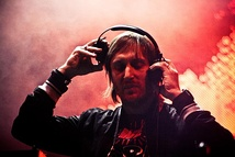 "French DJ David Guetta has two in the top 40, his own ""Sexy Bitch"" with Akon, and a featured ""Club Can't Handle Me"" with Flo Rida."