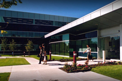 Entrance to Innovate Calgary, the University of Calgary's business incubator.