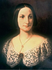 Fanny Salvini-Donatelli, the first Violetta