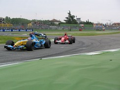 2005 San Marino Grand Prix held in Imola, Italy