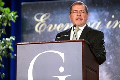 Norquist speaking with the Goldwater Institute in Phoenix, Arizona.