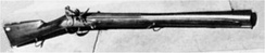 An 1808 Harper's Ferry blunderbuss, of the type carried on the Lewis and Clark Expedition