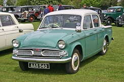 "Hillman Minx Series IIIC. The ""Audax"" Minx (Series I to VI) was designed by Raymond Loewy."