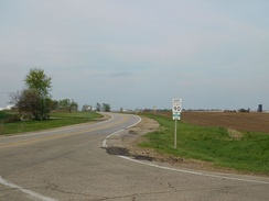 IL 90 east of IL 91