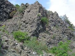 Pillow lava formations from an ophiolite sequence, Northern Apennines, Italy