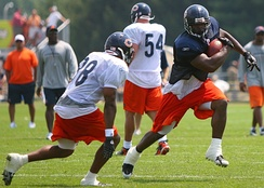 Jason McKie in training camp, July 2, 2007