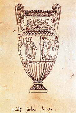 Tracing made by Keats of the Sosibios Vase