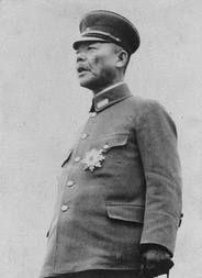 Kuniaki Koiso, Japanese Governor-General of Korea, implemented a draft of Koreans for wartime labor.