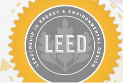 The Leadership in Energy and Environmental Design (LEED) Green Building Rating System® encourages and accelerates global adoption of sustainable green building and development practices through the creation and implementation of universally understood and accepted tools and performance criteria.