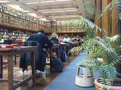 The library of the London School of Hygiene & Tropical Medicine