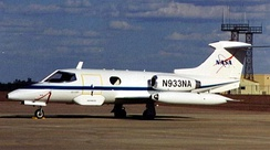 The company's first aircraft, the Learjet 23