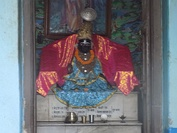 Nimbarkacharya's icon at Ukhra, West Bengal