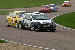 Pat Doran and his Ford Fiesta, Lydden 2006