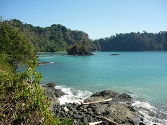 Manuel Antonio National Park in Costa Rica was listed by Forbes as one of the world's 12 most beautiful national parks.[11]