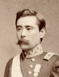 Marshal-Admiral Marquis Saigo Tsugumichi commanded Japanese expeditionary forces as a lieutenant-general in the Taiwan expedition.