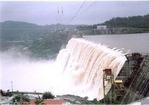 Sardar Sarovar Project, Gujarat, partially completed (up to E.L.121.92 m)