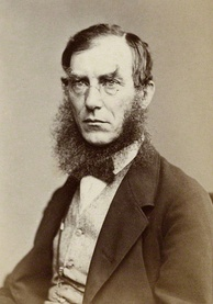 Hooker in the 1860s during his period at Kew
