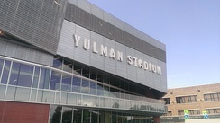 Tulane's football team plays its home games Uptown in Yulman Stadium