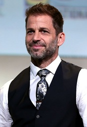 Zack Snyder: the director of Man of Steel, Batman v Superman: Dawn of Justice, and co-story writer/director of Justice League