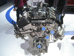 3.5 Ford EcoBoost engine (Twin Turbo)