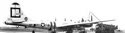 307th Bombardment Group Boeing B-29A-75-BN Superfortress 44-62328 SAC 8th Air Force, at RAF Lakenheath, England during the Berlin Airlift, 1948