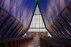 Interior of Cadet Chapel