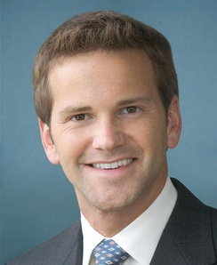 Aaron Schock, who was re-elected as the U.S. Representative for the 18th district