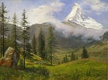 Albert Bierstadt, The Matterhorn (circa 1867).