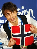 Alexander Rybak after winning the final.