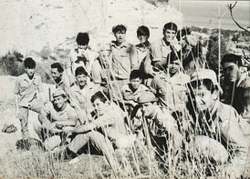 10th graders at Gadna class, 1969