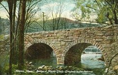 Bridge at Maple Grove c. 1910