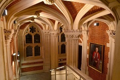 Refurbished interior of the Old Divinity School
