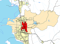 Ogden and its surrounding area