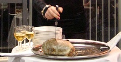 """Great chieftain o' the puddin-race!"" – cutting the haggis at a Burns supper"