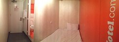 Typical EasyHotel room