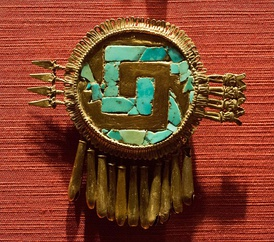 Shield of Yanhuitlan in the National Museum of Anthropology in Mexico city