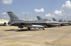F-16Cs Arkansas ANG at Ft Smith 2002