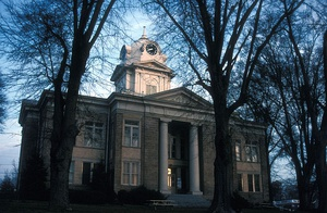 Franklin County Courthouse in Carnesville