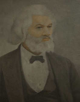Portrait of Frederick Douglass in the D.C. Recorder of Deeds Building. Frederick Douglass was the first recorder of deeds for the District of Columbia