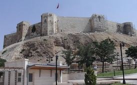 A view from Gaziantep castle
