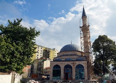 The Mirahori Mosque in Korçë.