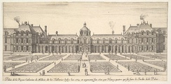 The Tuileries Palace in the 1600s
